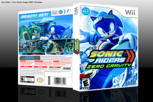 Sonic Riders : Zero Gravity by teh-sockey
