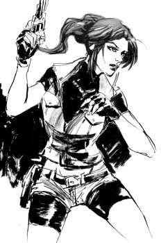 Claire Redfield by aaronminier