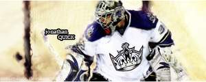 Jonathan Quick - Photoshop by MRomanos