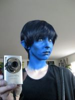 Nightcrawler Make-up by SailorAnime
