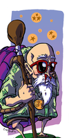 Roshi likes boobs by CraigArndt