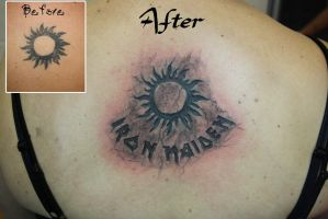 Maiden Sun by SimplyTattoo