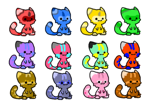 FREE Chibli Cat Adoptz~CLOSED by BlueAdoptz