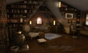 The attic by MarcZieger