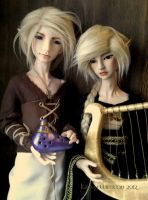 :Duet of Ages: by KatFrog08