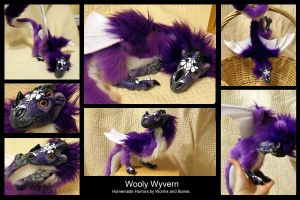 Wooly Wyvern by WormsandBones