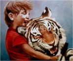 Calvin and Hobbes by strangelydrawn