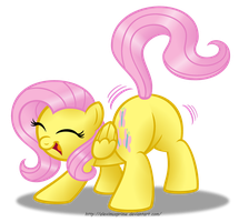Fluttershake by AleximusPrime