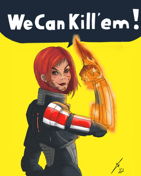 We can kill'em! by Themasterofgore