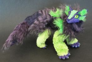 Alien Cat Dragon by LovelyTwistofNature