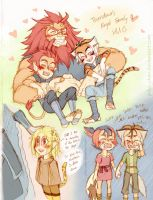 Thundercats - Inspired Dump 3 by piku-chan
