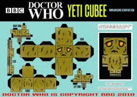 Doctor Who - Yeti Cubee by mikedaws