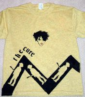 The Cure t-shirt -front by aquaticmoe