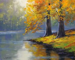 Lakeside by artsaus