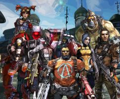 Borderlands 2 - Vault Hunters by Xpand-Your-Mind