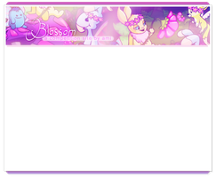 Blossom Ami Banner by Jagveress