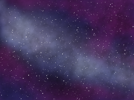 Galaxy painting by Remicarus