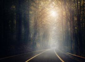 Light at the end of the tunnel by mariuslupu