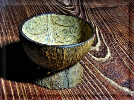 Simple coconut bowl... by Yancis
