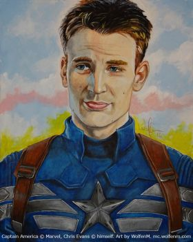 Captain America: Steve Rogers by WolfenM