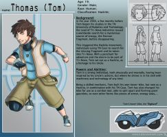 Thomas Character Sheet by HenLP