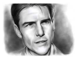 Tom Cruise by gregchapin