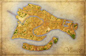 Venice Map by west2