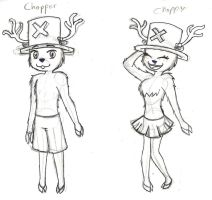 Chopper and Choppy by maahvictal