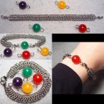 Simple Switchable ''Materia'' Bracelet by wickedorin