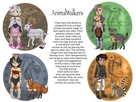 AnimalWalkers Adopts for sale by NatsumeWolf