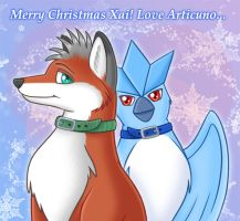 Christmas Present for Xai by Articuno