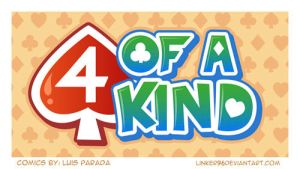 Logo 4 of a kind by LinkerLuis