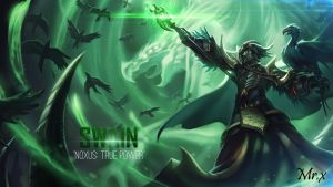 Swain League of legends by mex8
