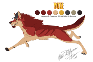 Reff Sheet - Yote 2013 by Kairi292