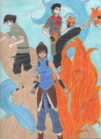 Legend of Korra by Yearofthe2catfanclub