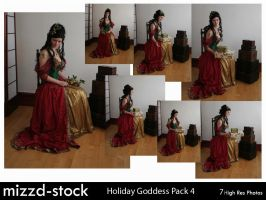 Holiday Goddess Pack 4 by mizzd-stock