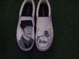 Beatle Shoes- Ringo Starr by spookisapuppy