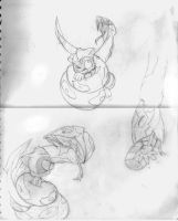 xai+seviper random sketches by xaiGatomon