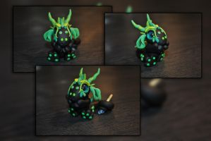 Sprout the Baby Forest Dragon by KirstenBerryCrafts