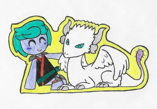 Carrison and the Kanna Dragon by ENDORE050