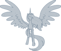 MLP Alicorn Statue Free Stock by The-Clockwork-Crow
