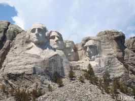 MOUNT RUSHMORE by swtiine