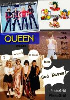 Queen Band by Sillyhatlovingbro