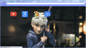 Jack Frost Chrome theme by LegendofFullmetal