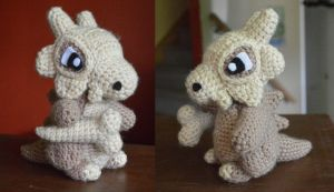 My most recent creation: Cubone! by Tessa4244