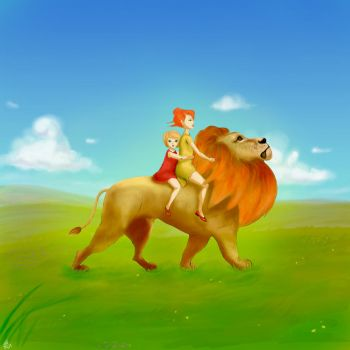 Aslan the Lion by Benji13L