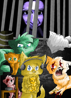 *CATIFIED* PewDiePie and the others~ by xXTwistedRainbows