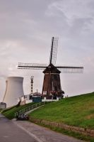 Windmill, Widmill for the land by PsychodelicMess