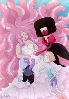 Steven Universe - Life and Sacrifice - Night vers by hyacinthess