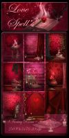 Love Spell's backgrounds by moonchild-ljilja